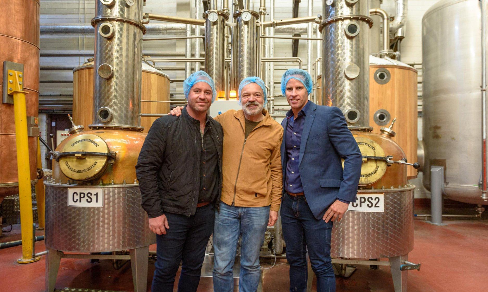 Blending at the West Cork Distillery